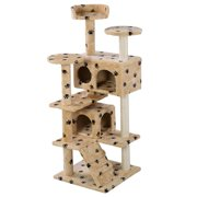 New Cat Tree Tower Condo Furniture Scratch Post Pet Kitten House Play Castle