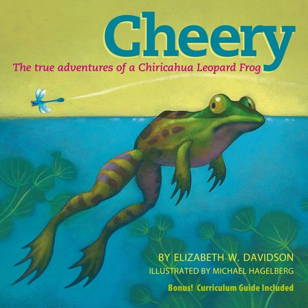 Taupe Leopard - Cheery: The True Adventures of a Chiricahua Leopard Frog - eBook