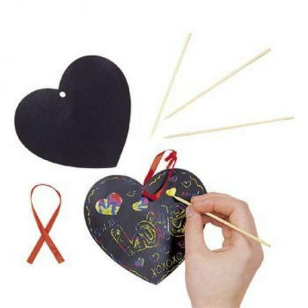 Magic Color Scratch Heart (Magic Color Scratch Hearts)
