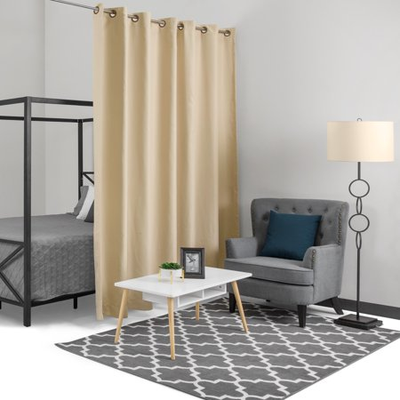 Best Choice Products 10x8ft Heavyweight Multi-Purpose Privacy Blackout Room Divider Curtain with Grommet Rings, (Best Multi Window App)
