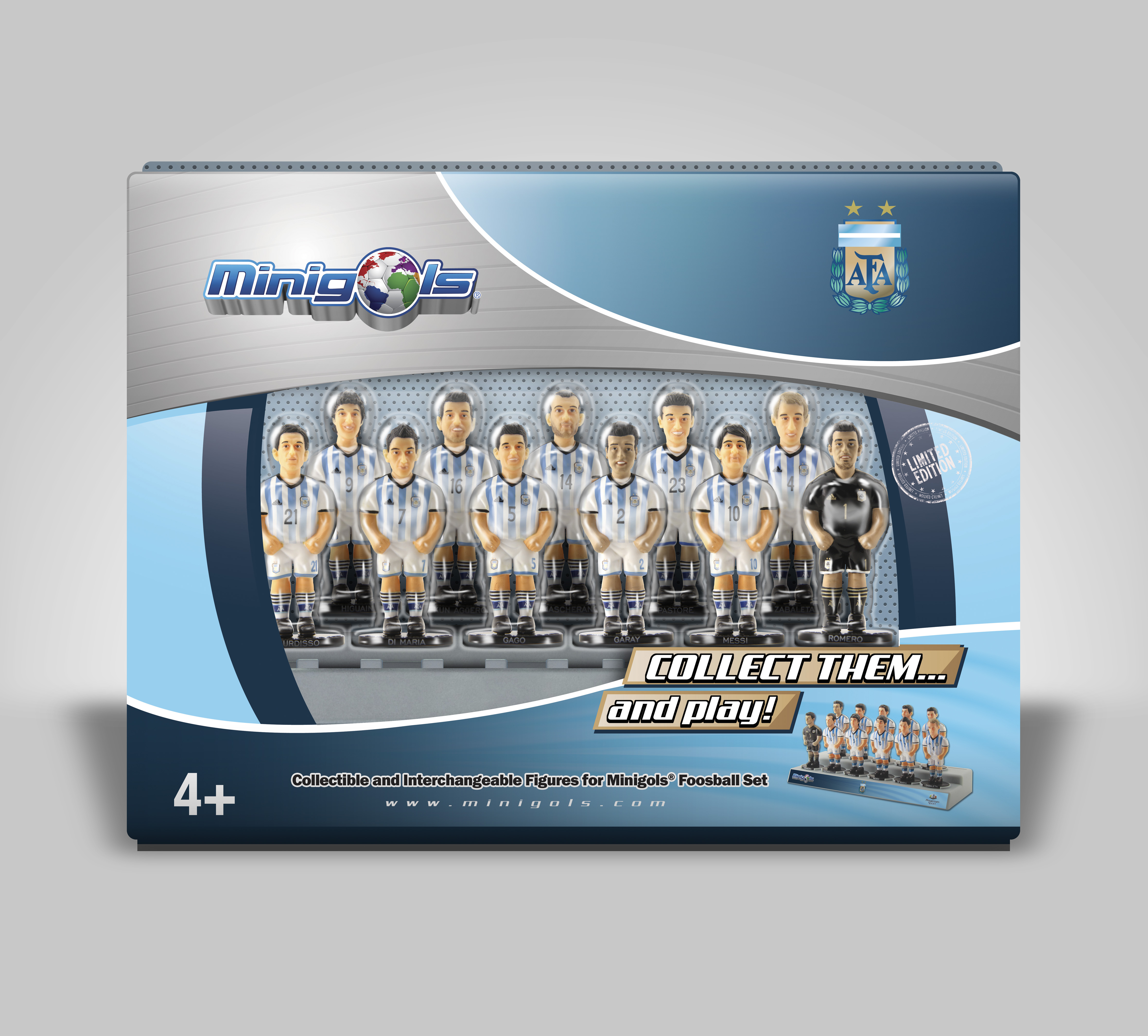 Argentina National Team 11 Pack