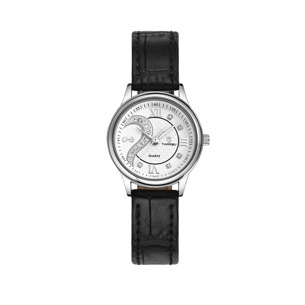 1 Pair Tiannbu Ultrathin Leather Romantic Fashion Couple Wrist Watches - Walmart.com