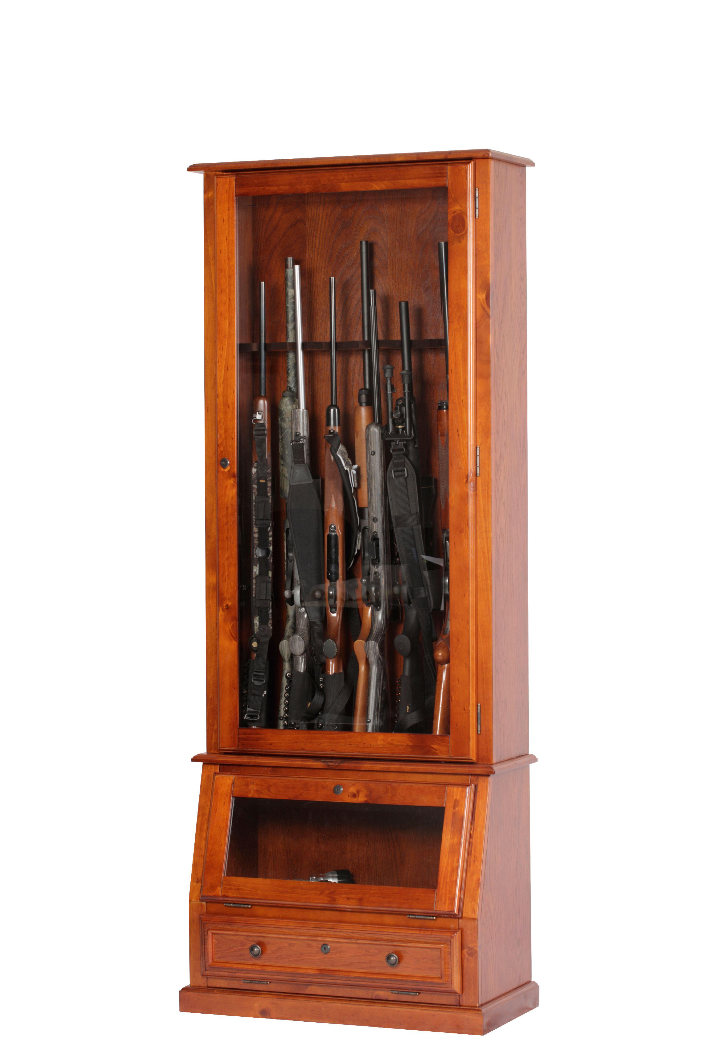 American Furniture Classics Rifle, Shotgun and Pistol Cabinet ...