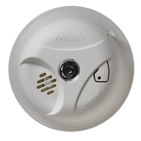 First Alert Battery Powered Smoke and Fire Alarm with Escape Light