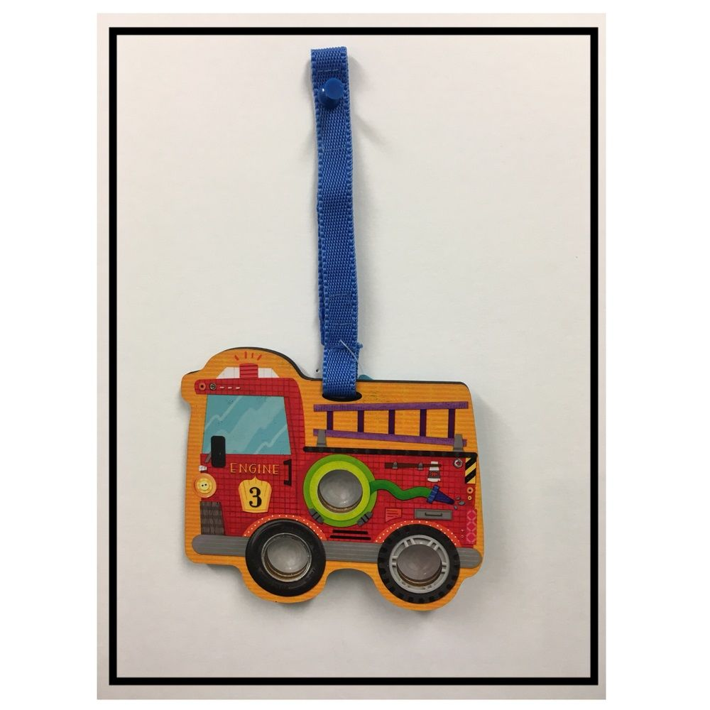 Poke Poppers: Fire Truck - Toddler Toy by Innovative Kids (697233004488)