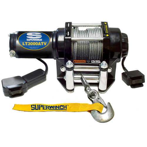 Superwinch 12V ATV Winch with 4-Way Roller Fairlead