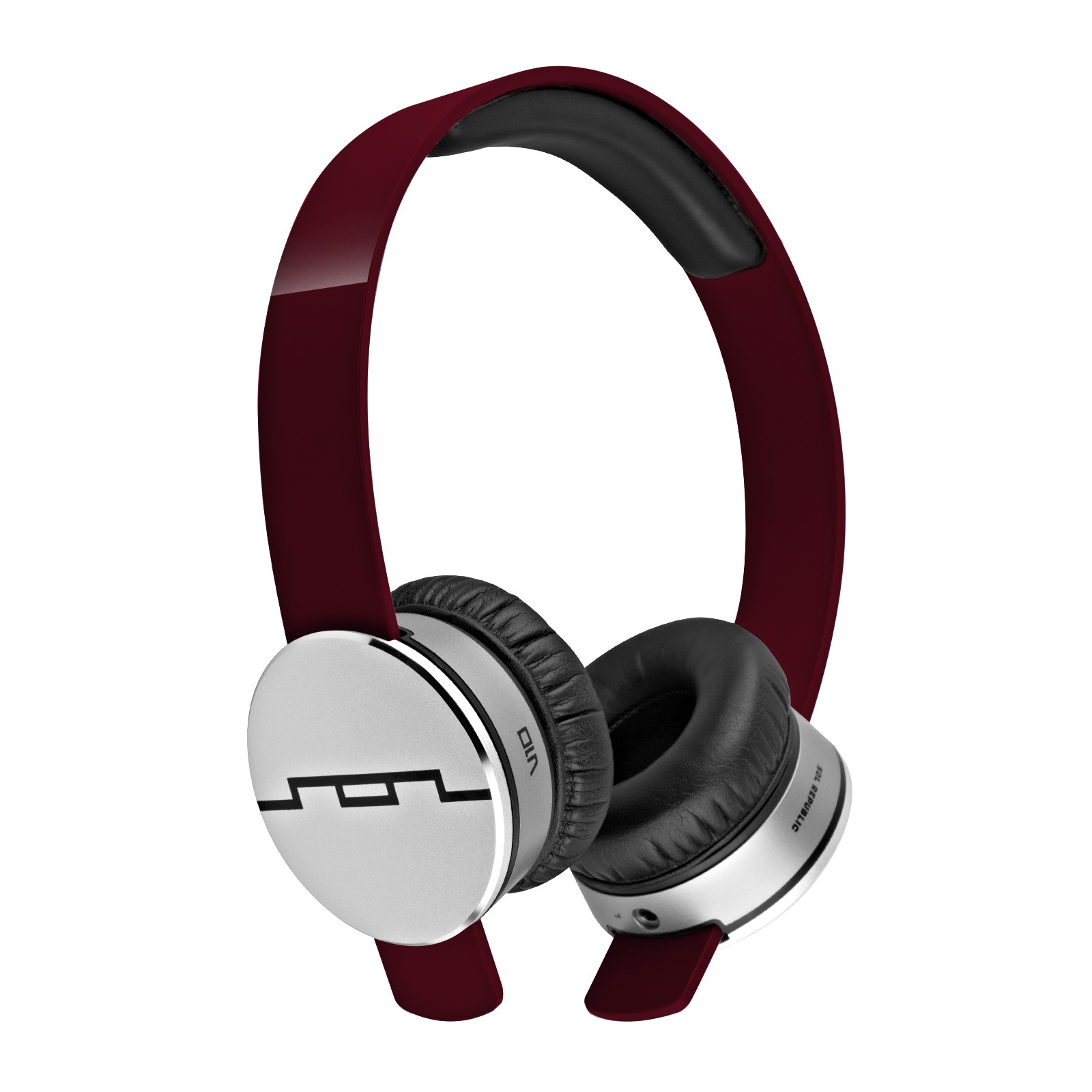 Sol Republic 1241 Tracks On-Ear Interchangeable Headphones w/ 3 Button Mic (Certified Refurbished)