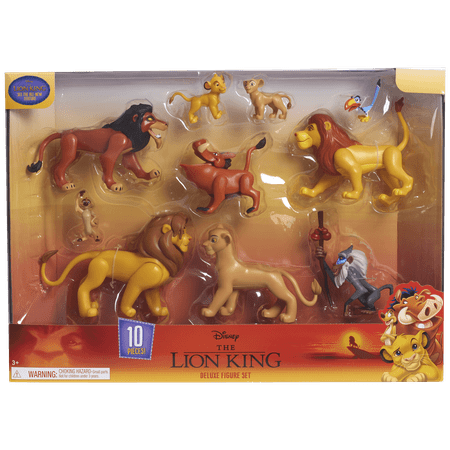Disney The Lion King Deluxe Figure Set
