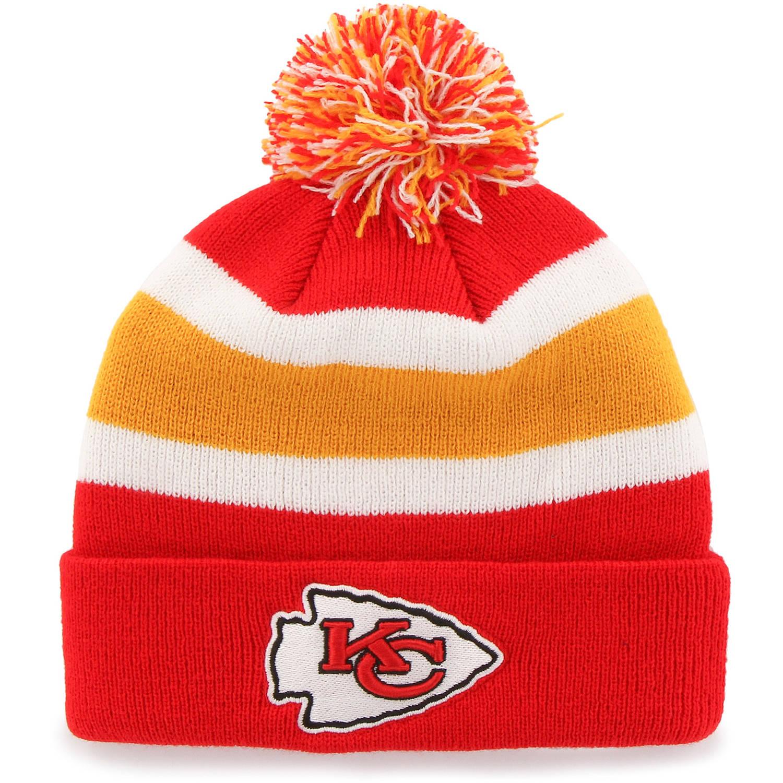NFL Kansas City Chiefs Breakaway Knit Beanie with Pomby Fan Favorite