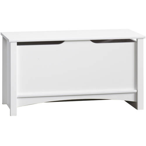 Child Craft Relaxed Traditional Storage Chest, White