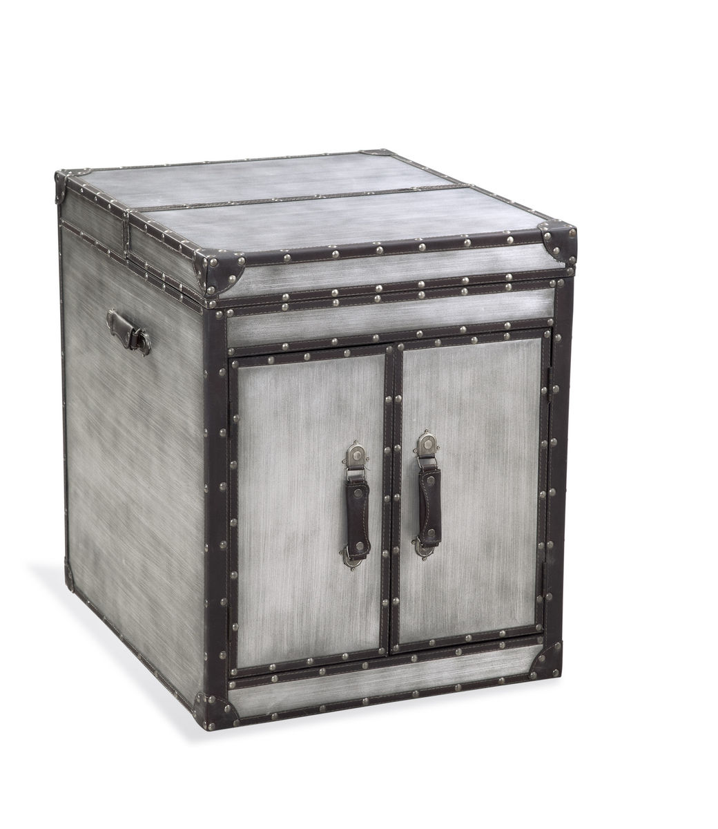 Bassett Belgian Modern Aeroway 2 Door End Table by Overstock