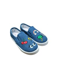Wonder Nation Girls' Patches Casual Slip-On Shoe