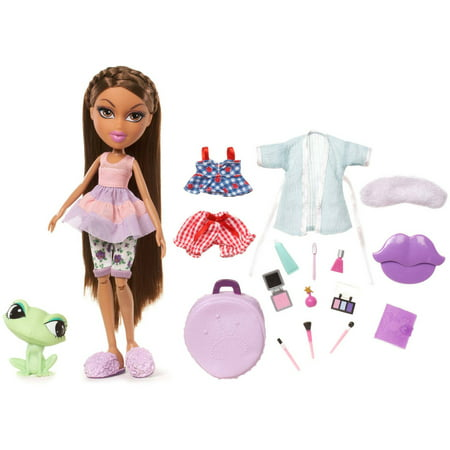 Girls Sleepover Set - Bratz Sleepover Party Doll, Yasmin