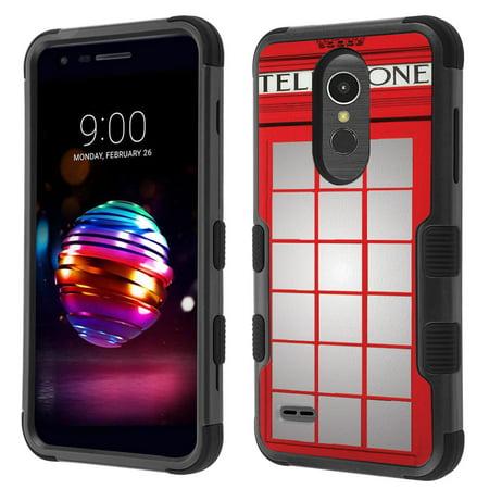 huge selection of 12148 32bc5 ShockProof Case for LG Phoenix Plus / LG Harmony 2 / LG Xpression Plus /  K30, OneToughShield ® 3-Layer Hybrid Protector Phone Case (Black/Black) -  ...