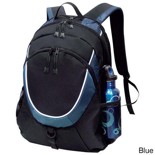 Goodhope Checkpoint-friendly 15-inch Laptop and Tablet Backpack Blue