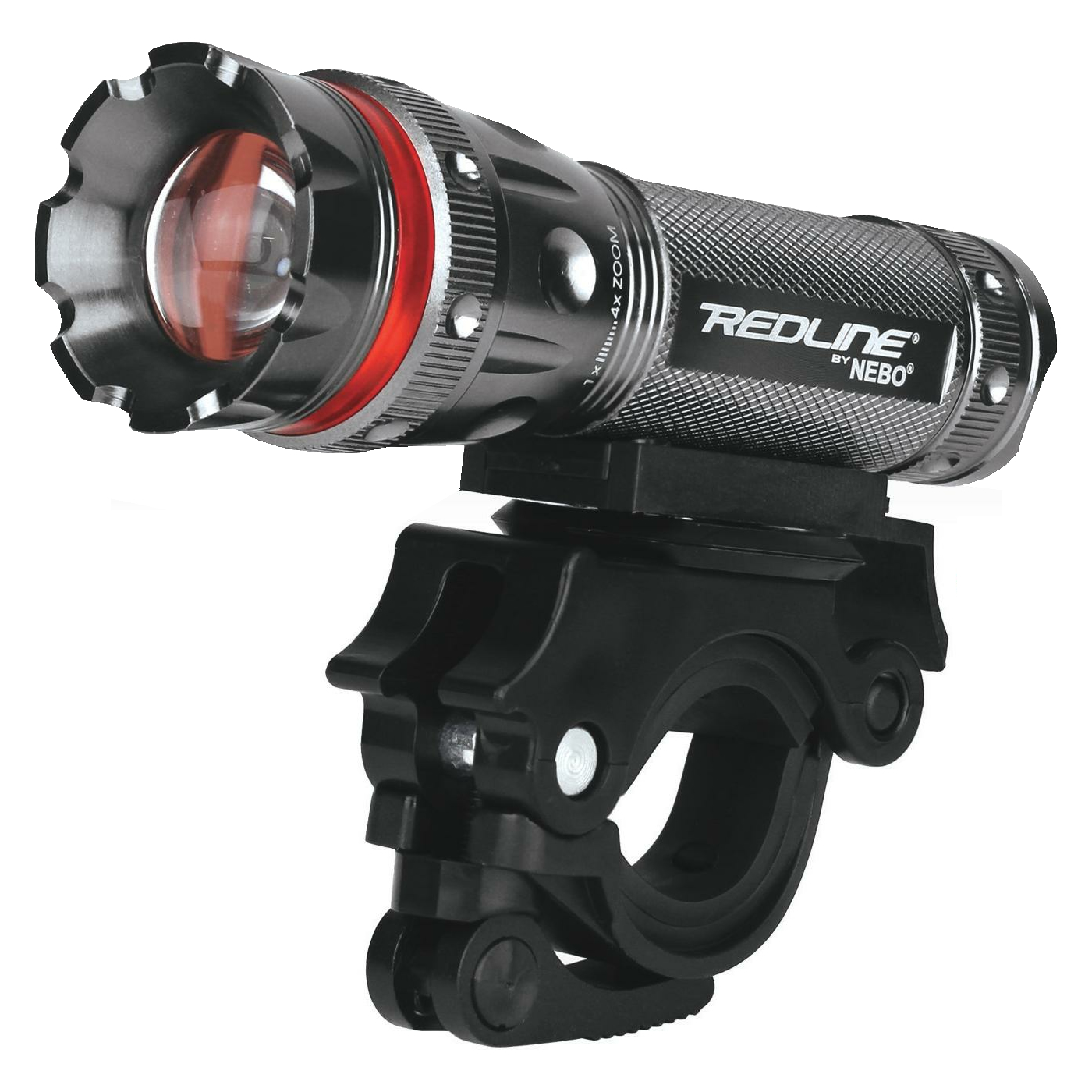 Refurbished Nebo Redline 220 Lumens LED Bike Light 4x Adjustable Beam - 180° Swivel