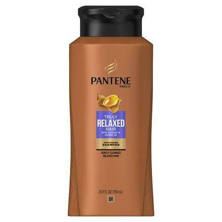 Pantene Pro-V Truly Relaxed Shampoo, Moisturizing, 25.4 Fl Oz