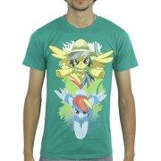 My Little Pony Daring Do Rainbow Men's Green T-shirt NEW Sizes XS-XL