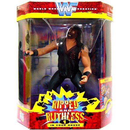 WWE Wrestling Ripped and Ruthless Series 1 Mankind Action Figure (Wwe Mankind)