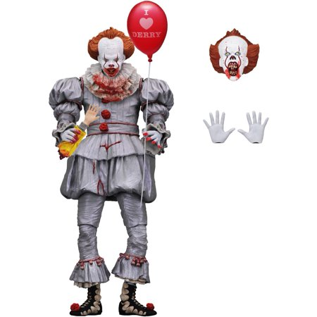IT Pennywise Action Figure [Ultimate Version, 2017 Movie, Bloody]
