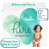 Pampers Pure Protection Diapers (Choose Size and Count)