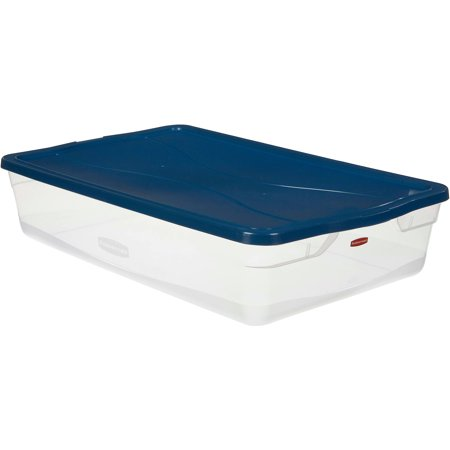 Rubbermaid Clever Store Clears Storage Container 41 Qt 6