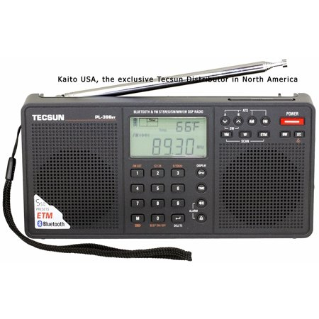 Tecsun PL398BT DSP Digital AM/FM/LW Shortwave Radio with Dual Speakers &