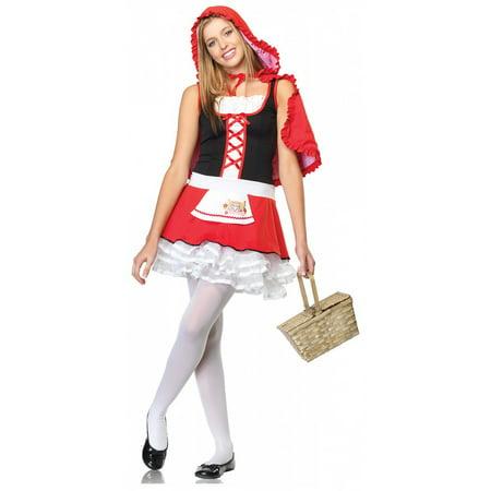 Lil' Miss Red Teen/Junior Costume - Teen Small/Medium