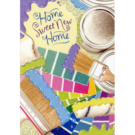 Designer Paint Rollers (Designer Greetings Paint Brushes and Rollers with Glitter New Home)