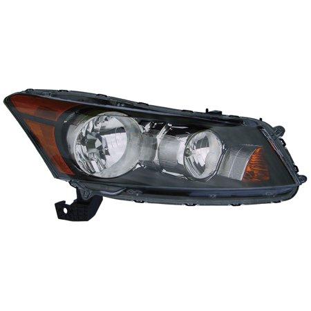 Honda Accord Headlight Assembly - 2008-2012 Honda Accord Sedan Passenger Right Side Headlight Lamp Assembly