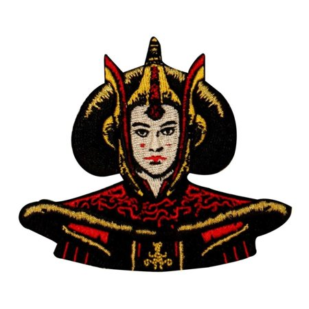 Disney Iron Patch (Disney Star Wars Queen Amidala Naboo Patch Officially Licensed Iron On Applique )