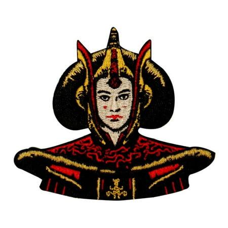 Star Wars Princess Amidala (Disney Star Wars Queen Amidala Naboo Patch Officially Licensed Iron On)