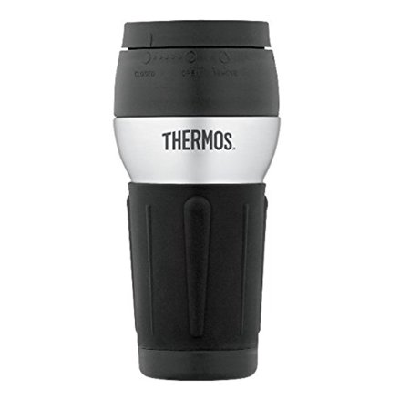 Garter With Flask (Thermos Stainless Steel 14 Ounce Travel Tumbler with 360 Degree)