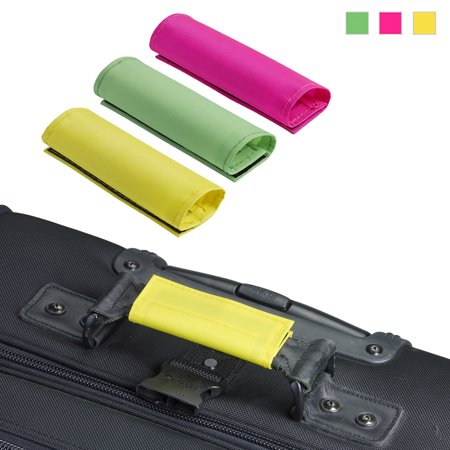 3PCS Lewis N. Clark Handle Wraps Grip Identifiers Traveling Bag Luggage Suitcase