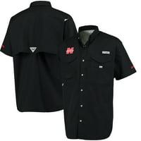 Nebraska Cornhuskers Columbia Bonehead PFG Shirt - Black