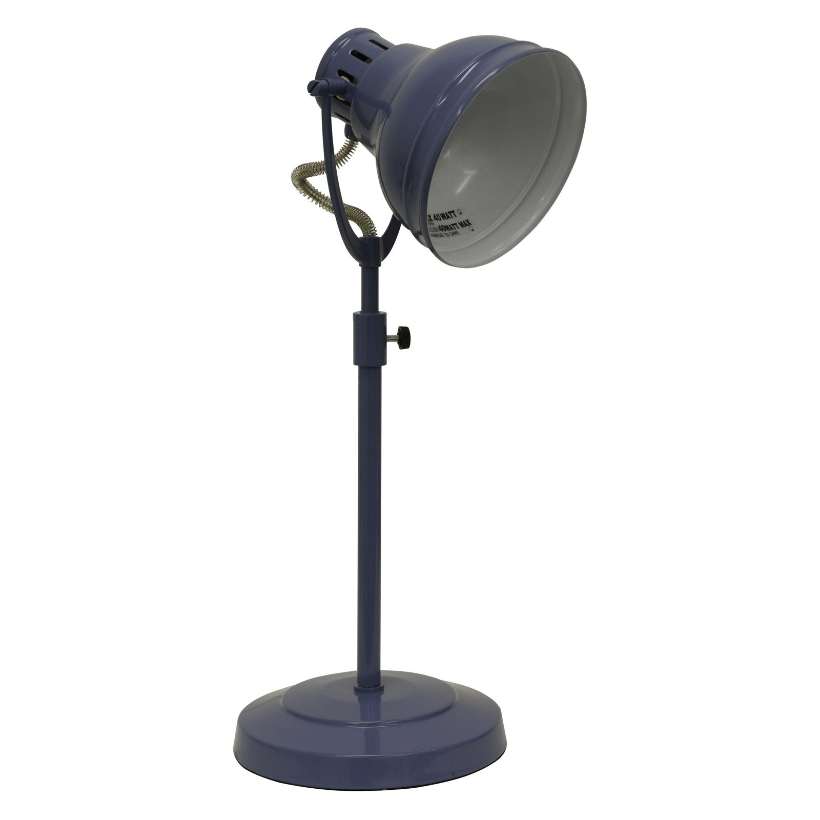 Desk Task Table Lamp with Adjustable Shade by JIMCO LAMP CO.