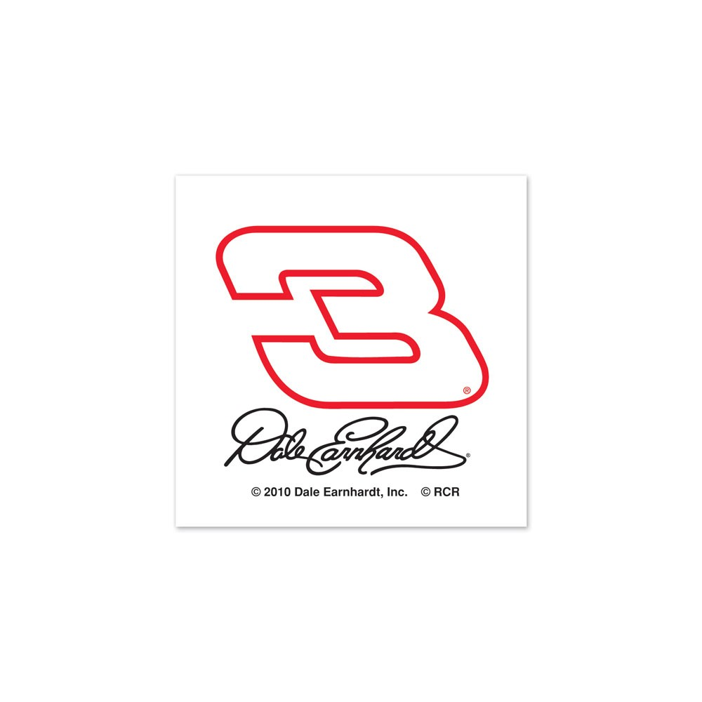 Dale Earnhardt Sr. Official Nascar 1 inch x 1 inch Temporary Tattoos by Wincraft by Wincraft