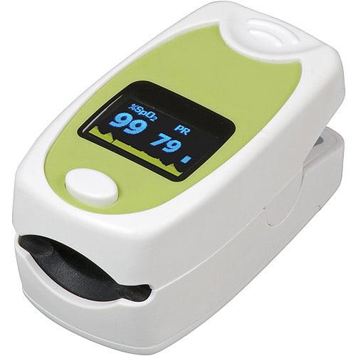 HealthSmart Deluxe Fingertip Pulse Oximeter