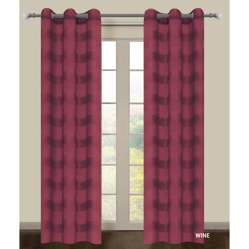 Dainty Home Summer 2015 Parisienne Curtain Panels (Set of 2)