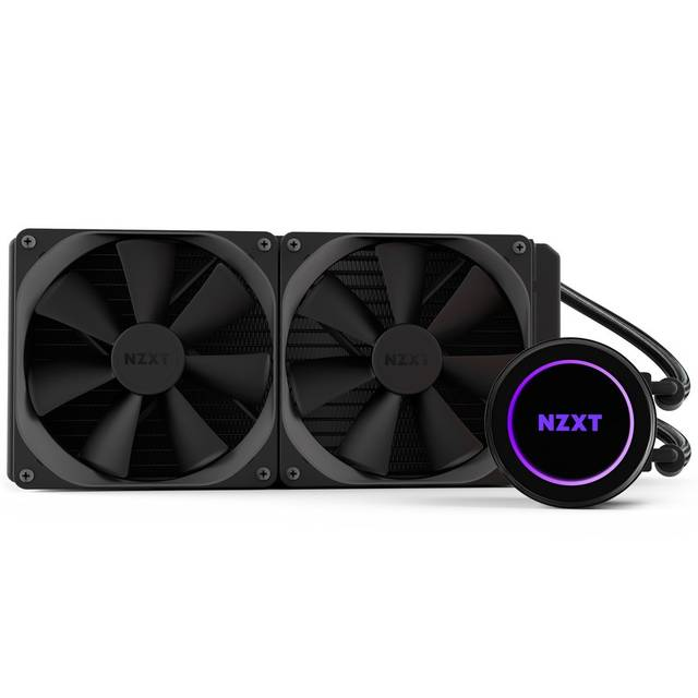 NZXT RL-KRX62-02 Kraken X62 280mm All-in-one Water/Liquid CPU Cooling with Software Controlled RGB Lighting