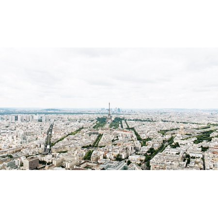 LAMINATED POSTER Cityscape Landscape City French Paris Vacation Poster Print 24 x 36