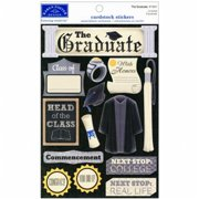 Cardstock Stickers-The Graduate