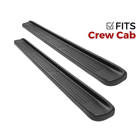 ionic factory style running boards ford f250/f350 sd 1999-2016 crew cab