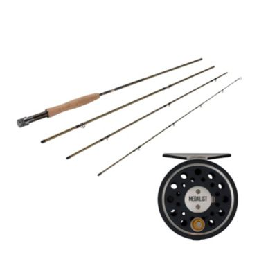 Fenwick Eagle Fly Fishing Rod   Pflueger Medalist Fly Fishing Reel Kit by Fenwick
