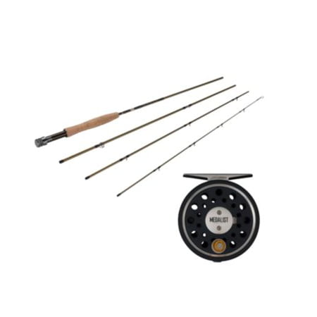 Fenwick Eagle Fly Fishing Rod / Pflueger Medalist Fly Fishing Reel Kit