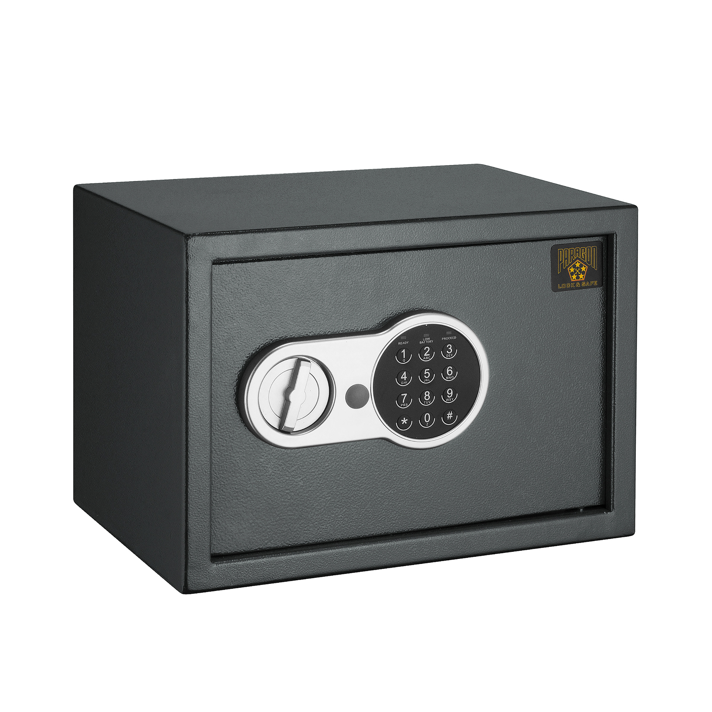 Paragon Lock & Safe Electronic .6 CF Digital Entry Deluxe Safe for Home Security