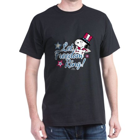 Snoopy - Let Freedom - 100% Cotton T-Shirt](Snoopy Halloween Shirt)