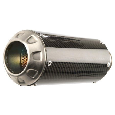 Hotbodies Racing 51602-2404 MGP II Growler Full System Exhaust - Carbon Fiber Muffler