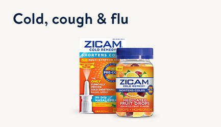 Cold, cough and flu products