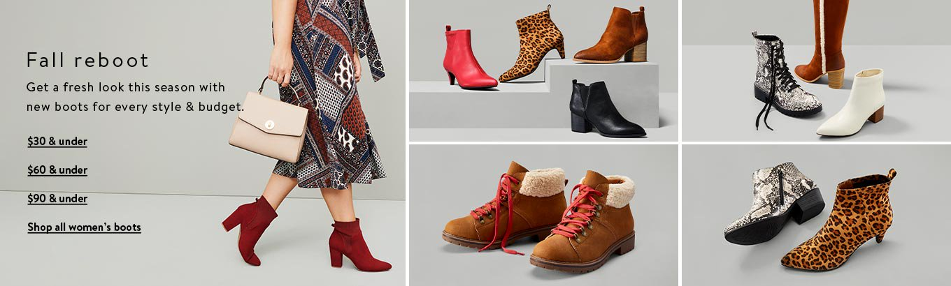 Shop For Womens Boots